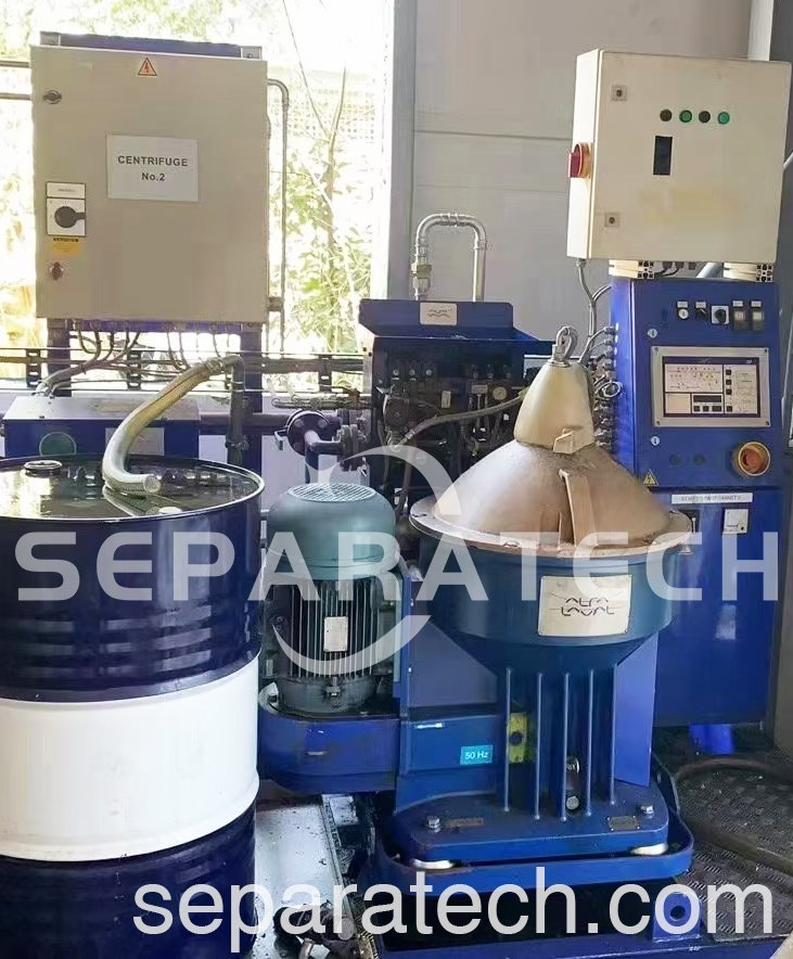 Used Alfa Laval Self-cleaning Disc Separator S841