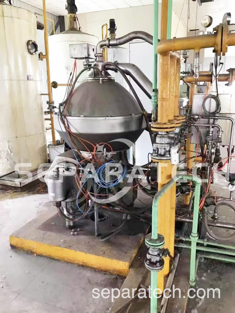 Used Alfa Laval Self-cleaning Separator PX65